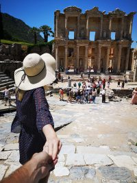 The Celsus Library in Ephesus