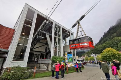 The Mount Roberts Tramway