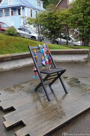 The empty chair in Juneau