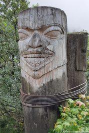 Totempfahl in Juneau