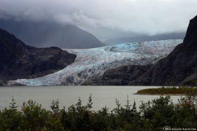 Der Gletscher mit dem Mendenhall Lake