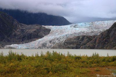 Der Mendenhall-Gletscher in Alaska