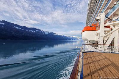 Drive through Prince William Sound