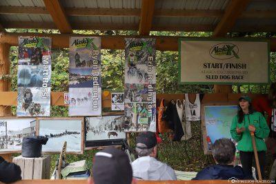 Ein Vortrag über die Hundeschlittenrennen in Alaska