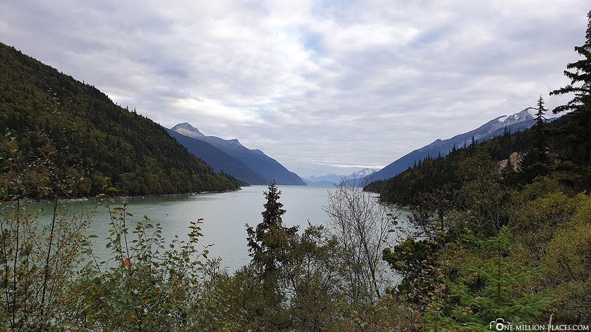 Nahku Bay, View Point, Skagway, Alaska, USA, Travel Report, Princess Cruise