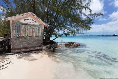 Conch Stand on Stocking Island