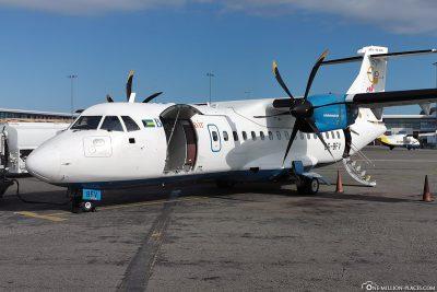 Bahamasair Maschine ATR 42