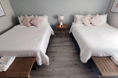 Unser Zimmer im Peace and Plenty Resort