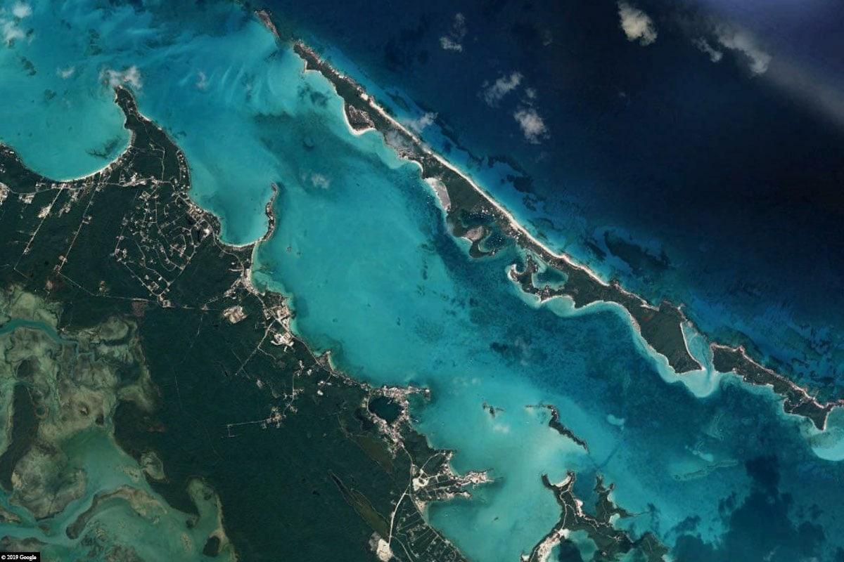 Stocking Island, Map, Bahamas, Travelreport