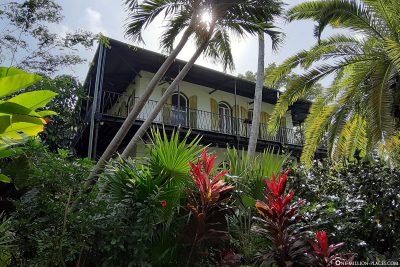 Hemingway-Haus in Key West