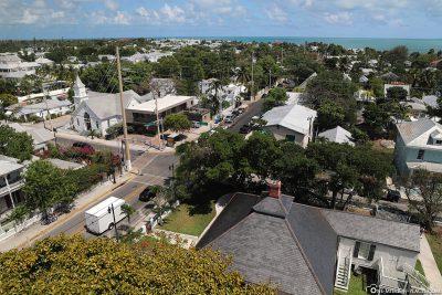 Blick über Key West