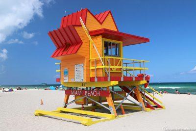 Der Lifeguard Tower 8th Street