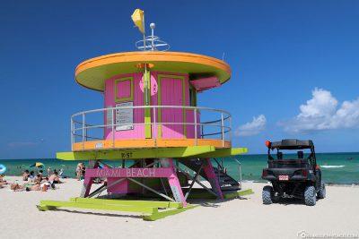 Der Lifeguard Tower 10th Street