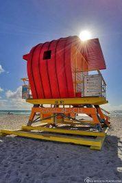 Der Lifeguard Tower 13th Street