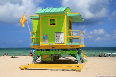 Der Lifeguard Tower 6th Street
