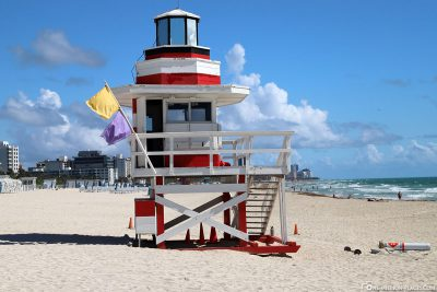 The Lifeguard Tower at South Pointe Beach