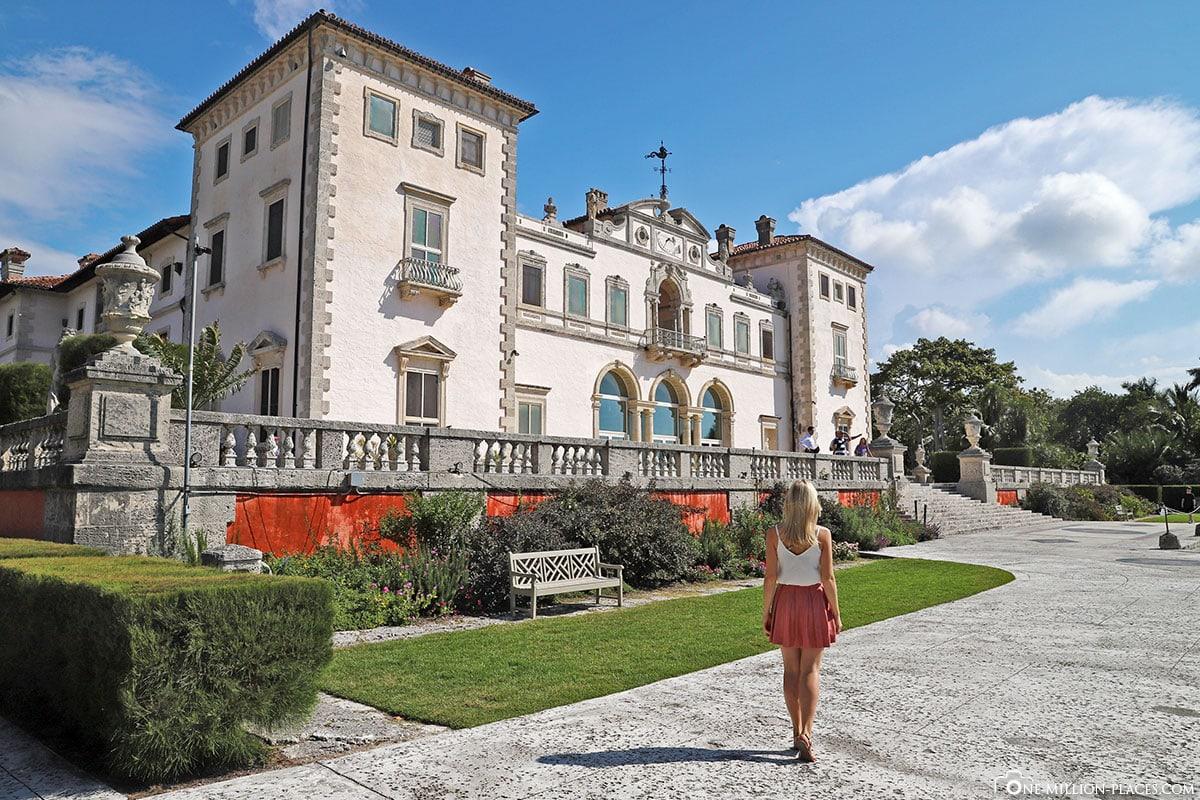 Villa Vizcaya, Miami, Florida, USA, Instagram Spot, Reisebericht