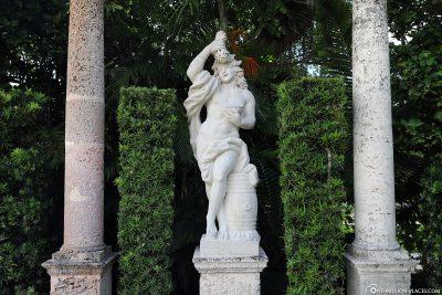 Statue im Garten
