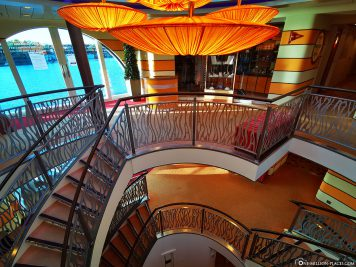 The stairwell