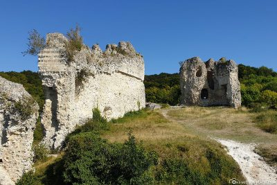 The ruins of the Castle of Chateau Gaillard