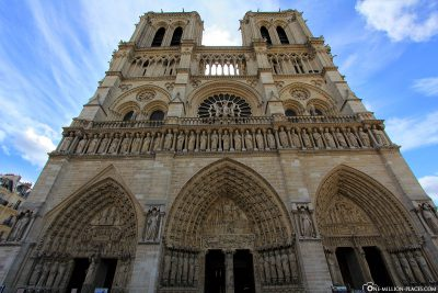 West facade of Notre-Dame Cathedral