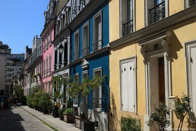The colourful Rue Crémieux