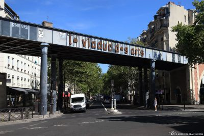 The Viaduc des Arts