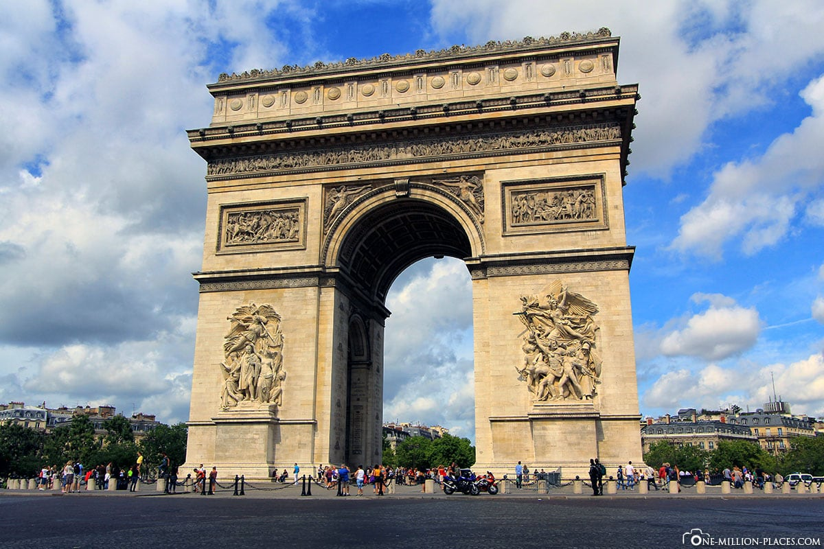 Arc de Triomphe de l'Etoile, Paris, photo spots, sights, river cruise, On your own, travelogue