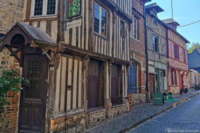 Fachwerkhäuser in Honfleur