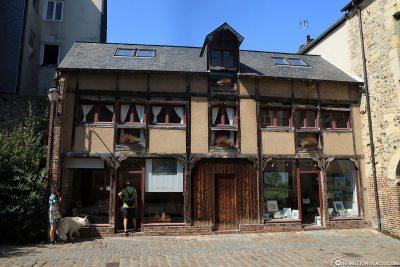 Die Altstadt von Honfleur