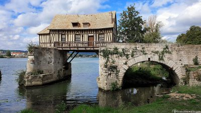 The old mill on the Seine