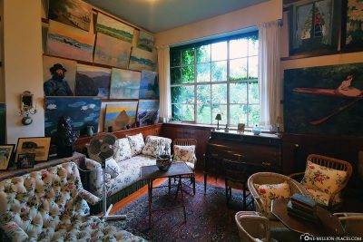 The residence of Claude Monet