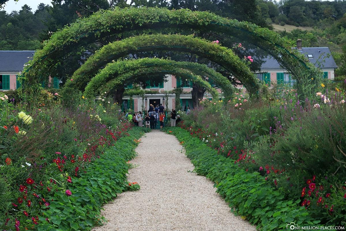 Vernon Die Garten Von Claude Monet In Giverny Frankreich
