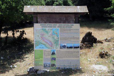 The Ainos National Park