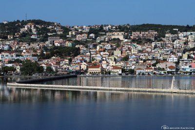 De Bosset Bridge in Argostoli