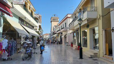 The Lithostroto promenade