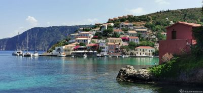 The picturesque village of Assos on Kefalonia