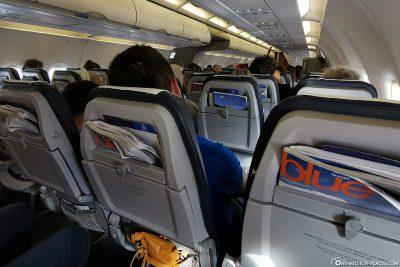 Unser Flug nach Athen
