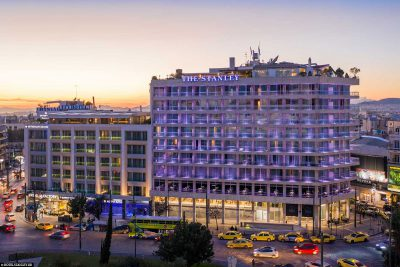 Das Hotel Stanley in Athen
