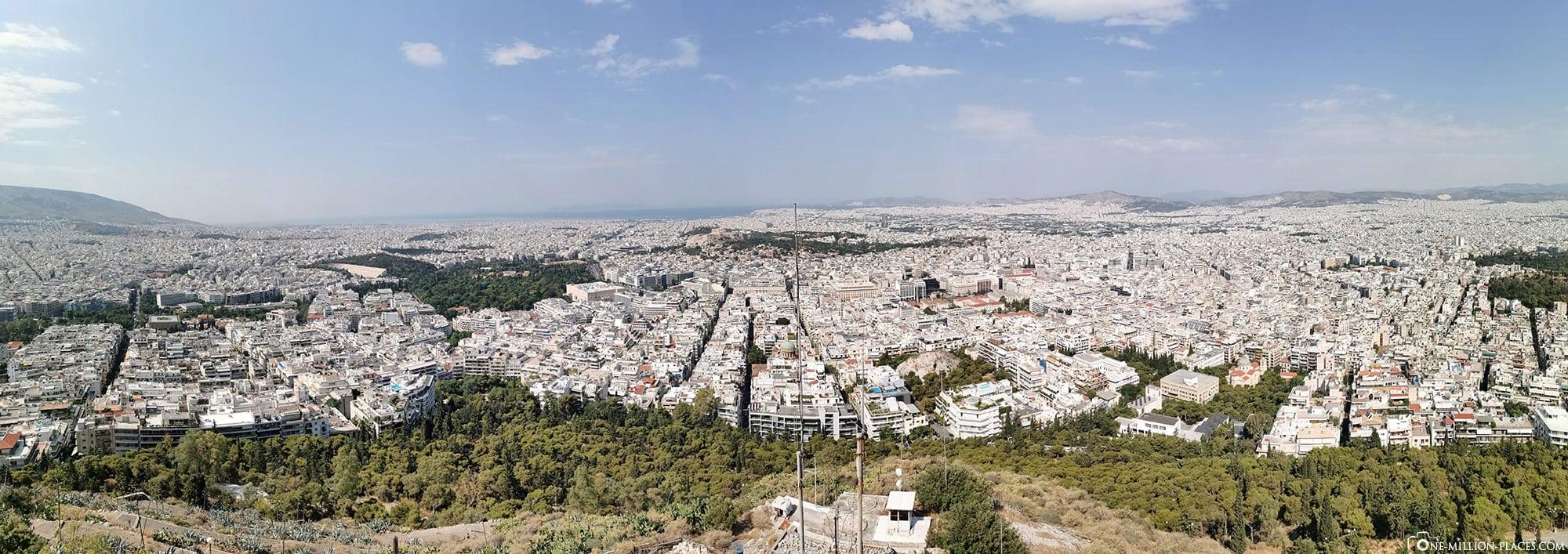 City Mountain Lykavittos, Athens, Greece, Attractions, Travelreport, Photo spot
