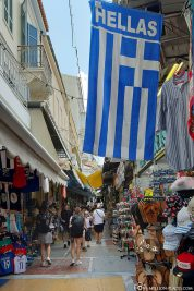 Street Market in Athens