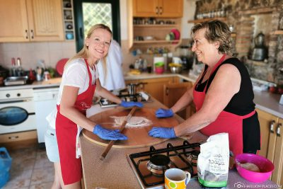 Dough for the Kefalonian Meat Pie