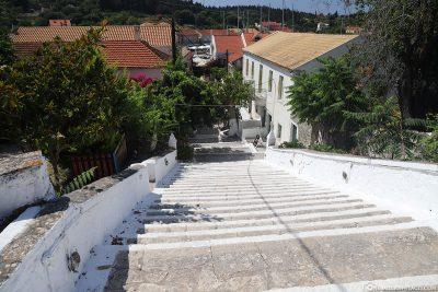 The town of Fiskardo