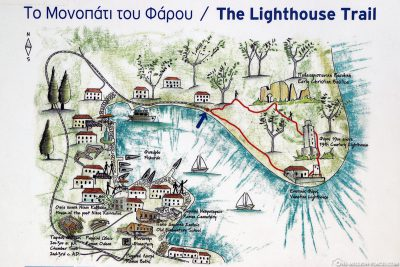 The Fiskardo Lighthouse Trail