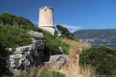 Venetian lighthouse near Fiskardo