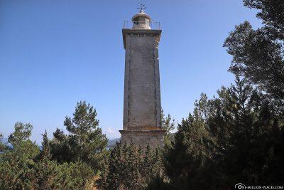 The lighthouse in Fiskardo