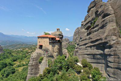 The monastery of Agios Nikolaos Anapavsas