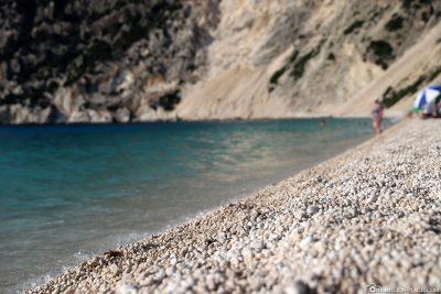 The pebble beach