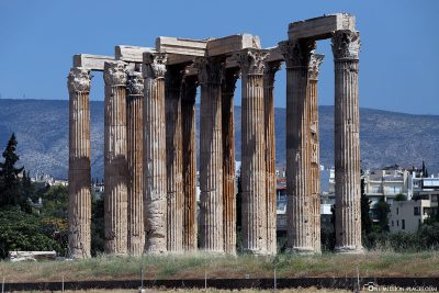 The Temple of Olympic Zeus