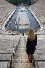 Panathinaiko Stadium in Athens